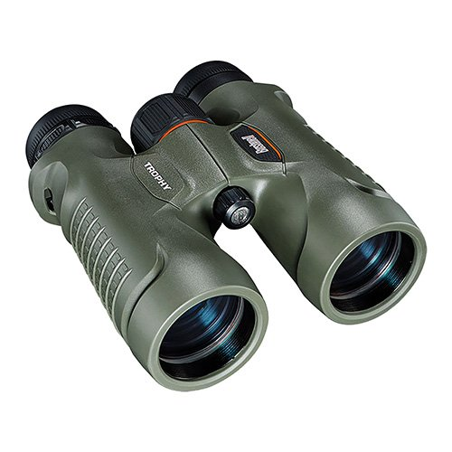 Bushnell Trophy Binocular, Green 8x32, Roof Prism System and Focus Knob for Easy Adjustment