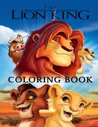 Read Lion King coloring book<br />E.P.U.B