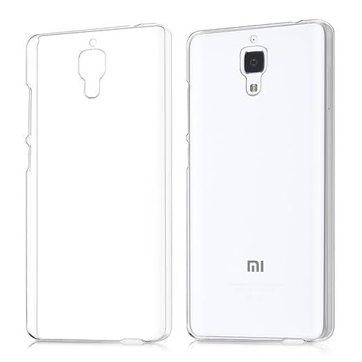 4 opinioni per kwmobile Cover per Xiaomi MI4- Custodia trasparente per cellulare- Back cover