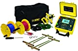 AEMC 4620 4-Point Ground Resistance Tester Kit, 2000 Ohms Resistance, 10mA Current with 300' Leads