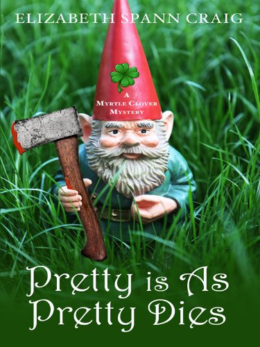 Read Online Pretty Is As Pretty Dies (Wheeler Large Print Cozy Mystery: A Myrtle Clover Mystery) pdf epub