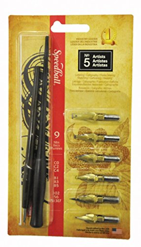 (Speedball Calligraphy No-5 Artists Project Set )