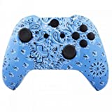 ModFreakz™ Shell Kit Hydro Dipped Blue Handkerchief For Xbox One Model 1537 Controllers
