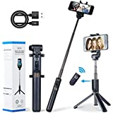 Apexel Selfie Stick Bluetooth Monopod Foldable Tripod Stand Remote Control Extendable Aluminum Alloy 360 Rotation Phone Holder iPhone 6S Plus 7 Plus 8 Plus Samsung S8 S7 S6 Edge