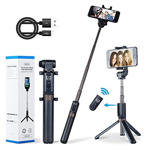 Apexel Extendable Bluetooth Monopod Wireless