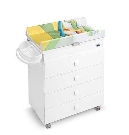 Cam - Mueble cambiador y bañera, modelo Asia 2013, color blanco ...