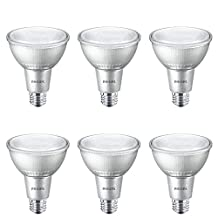 Philips 467845 75W Equivalent Soft White Dimmable PAR 30L Indoor/Outdoor LED Flood Light Bulb
