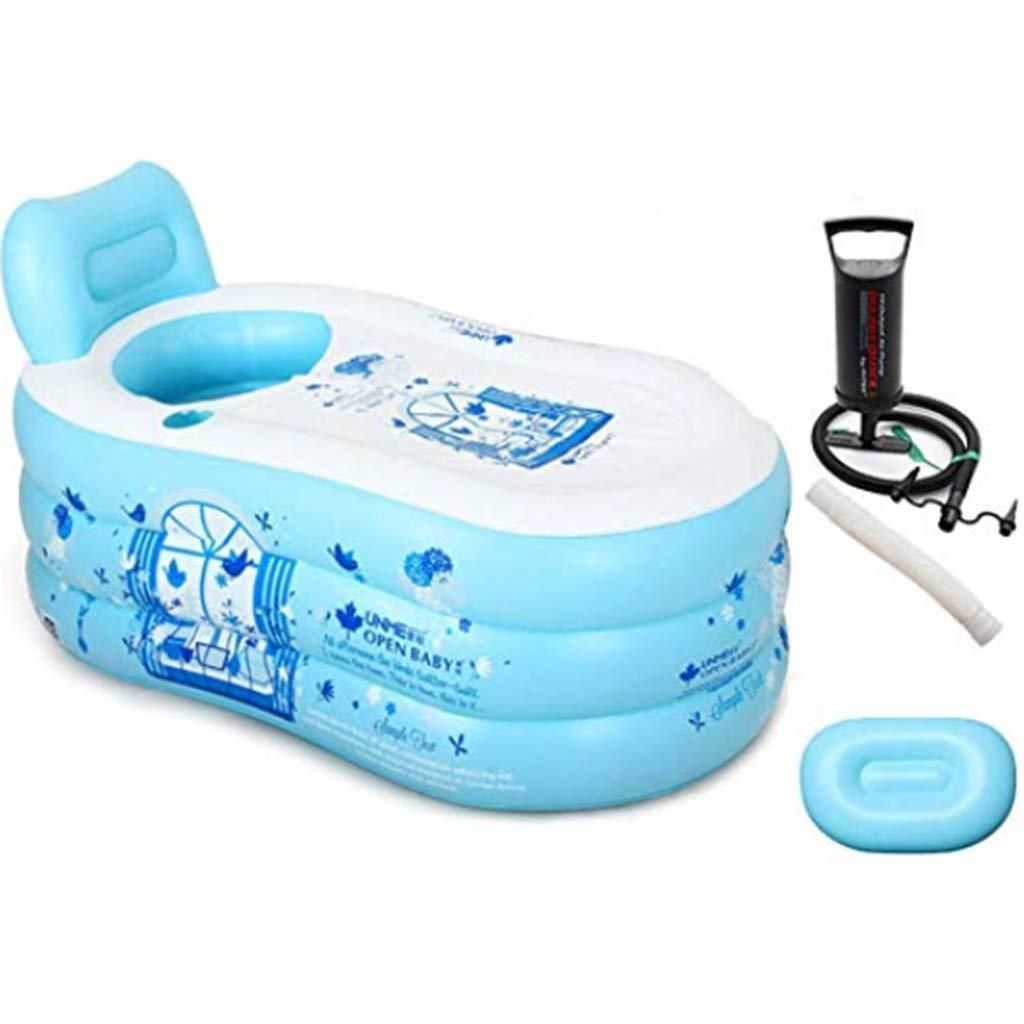 Inflatable bathtub Adult Single Bathtub Household Folding Bathtub Adults Thicken Body Bathtub