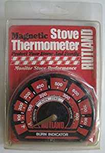 Rutland Magnetic Stove Thermometer 100°-850° F
