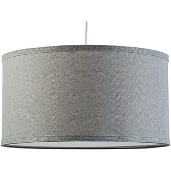 Messina one light drum pendant lamp chandelier heather gray shade messina one light drum pendant lamp chandelier heather gray shade with chrome canopy linea aloadofball Images