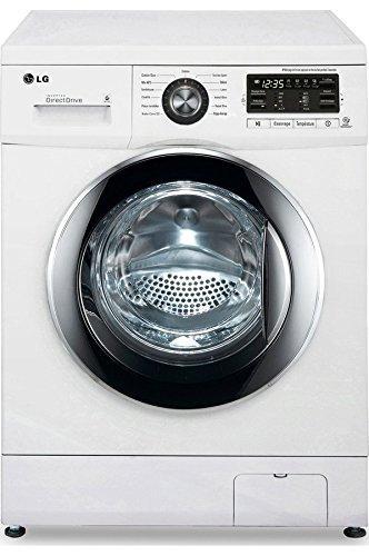 LG F82552WH Independiente Carga frontal 8kg 1200RPM A+++-30 ...