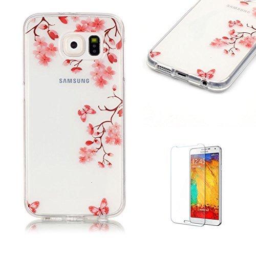 14 opinioni per per Samsung Galaxy S6 Custodia,Funyye Morbida Sottile TPU Gel Silicone Cover