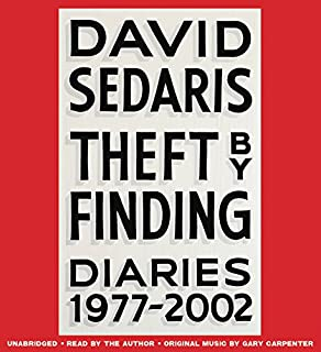Book Cover: Theft by Finding: Diaries
