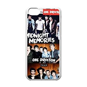Custom High Quality WUCHAOGUI Phone case One Direction Music Band Protective Case For Iphone 5c - Case-16