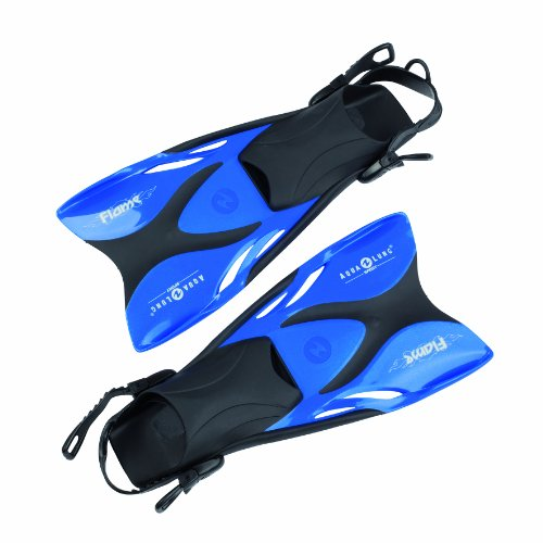 Aqua Lung 63306 - Schwimmflossen Flame metallic, 33-36, blau