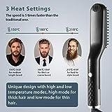 Beard Straightener, Easkep 3 in 1 Best Ceramic