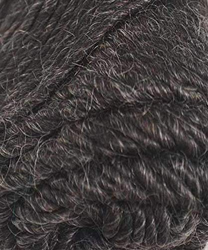 Brown Sheep Lamb's Pride Yarn 06 - Deep - Chunky Alpaca Charcoal