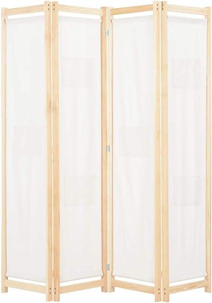 Tidyard Paravento Divisorio Interno Pieghevole a 3 Pannelli in Tessuto e Ferro,Divisorio Pieghevole,Separ/è per Interni,Paravento Separ/é,Divisorio Interno,Separe divisorio Interno 150x180 cm