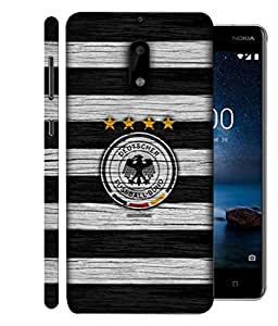 ColorKing Football Germany 20 Multi Color shell case cover for Nokia 9