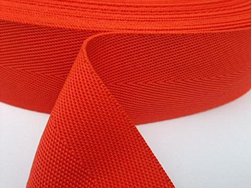50 mm Polypropylene Webbing Strip Sold by the Metre Bowmer Bond #webbing-50