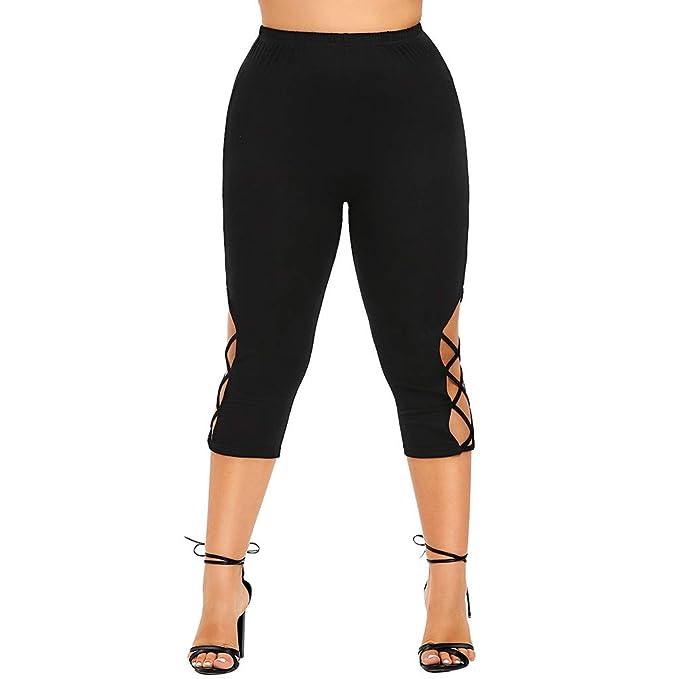 cinnamou Pantalon Yoga Mujer, Casual Pantalon Tallas Grande ...