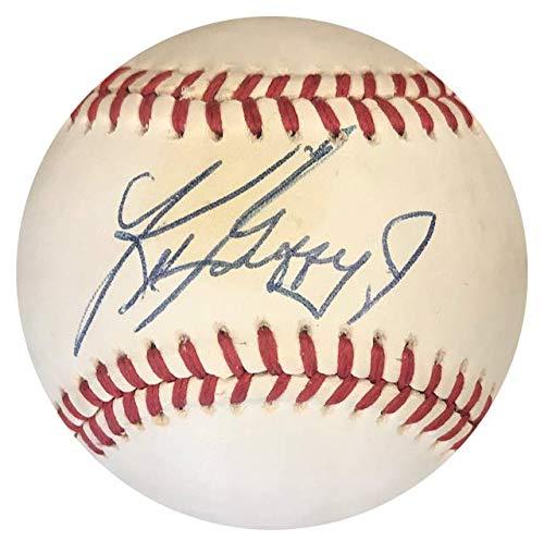 Ken Griffey Jr Autographed Baseball - Ken Griffey Jr. Autographed Official American League Baseball