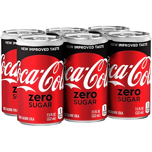 (Coca-Cola Zero, 7.5 fl oz, 6 Pack)