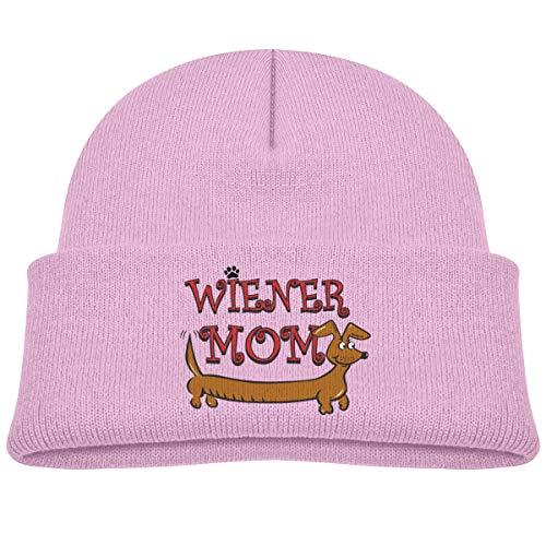 Rhfjgk Ldjg Wiener Mom Dog Skull Hat Beanies