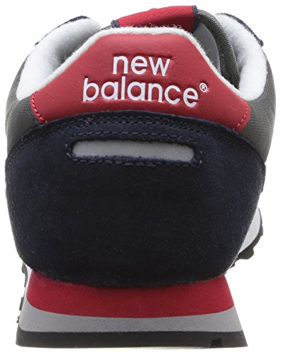 New Balance U430 - Zapatillas unisex, Sgr Grey/Red, 36