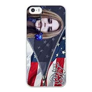 Fashion design Lana Del Rey iPhone 5 5s Cell Phone Case White for Xmas gift DZT8406755