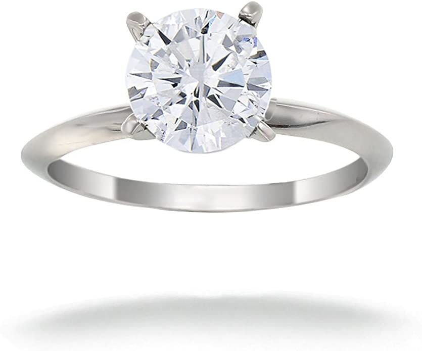 14k White Gold Plated 0.81 Cts CZ Diamonds Mens Pave Set Ring 925 Sterling Silver
