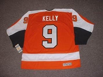dc97edf9b ... promo code for bob kelly philadelphia flyers 1974 ccm vintage throwback  away nhl hockey jersey large