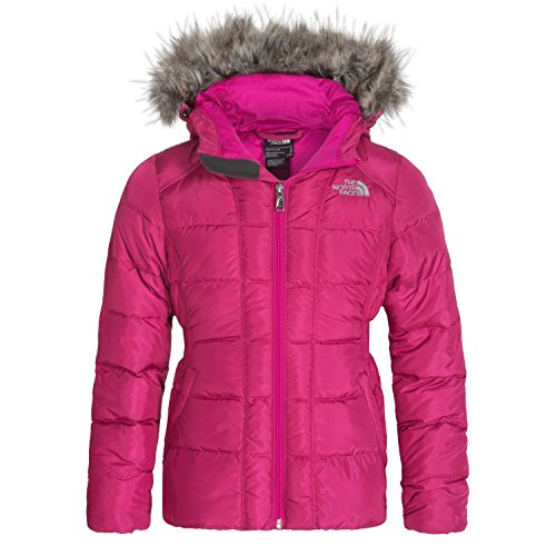 The North Face Gotham Down Jacket (Girls, XL, Luminous Pink) by The North Face
