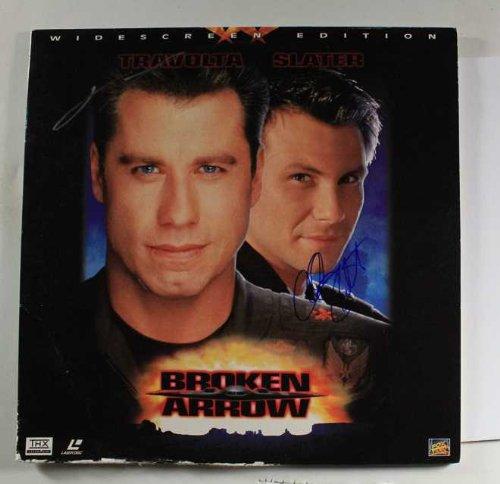 John Travolta & Christian Slater Autographed
