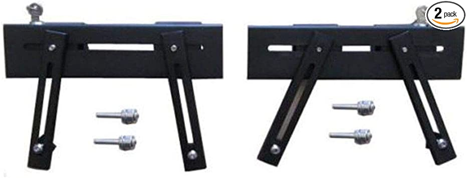 Universal Fit Adjustable Saddlebag Supports Large with M8 Bolts