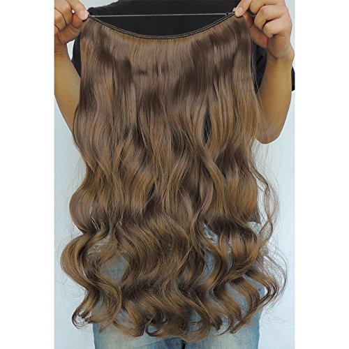 Secret Halo Hair Extensions Flip In Curly Wavy Hair