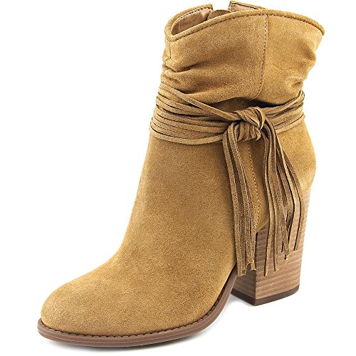 Jessica Simpson New Sesley Honey Brown Suede 6.5 Womens Shoes