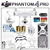 DJI Phantom 4 Professional Drone Kit w/eDig Long Range Flight Bundle