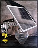 MASSIVE 2600 BRIGHT LUMENs REAL SOLAR PANEL Patio Safety and Security Lamps Residential or Commercial Pathway Lights (1, 18 watts)