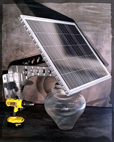 MASSIVE 2600 BRIGHT LUMENs REAL SOLAR PANEL Patio Safety and Security Lamps Residential or Commercial Pathway Lights (1, 18 watts) by Solar Pro