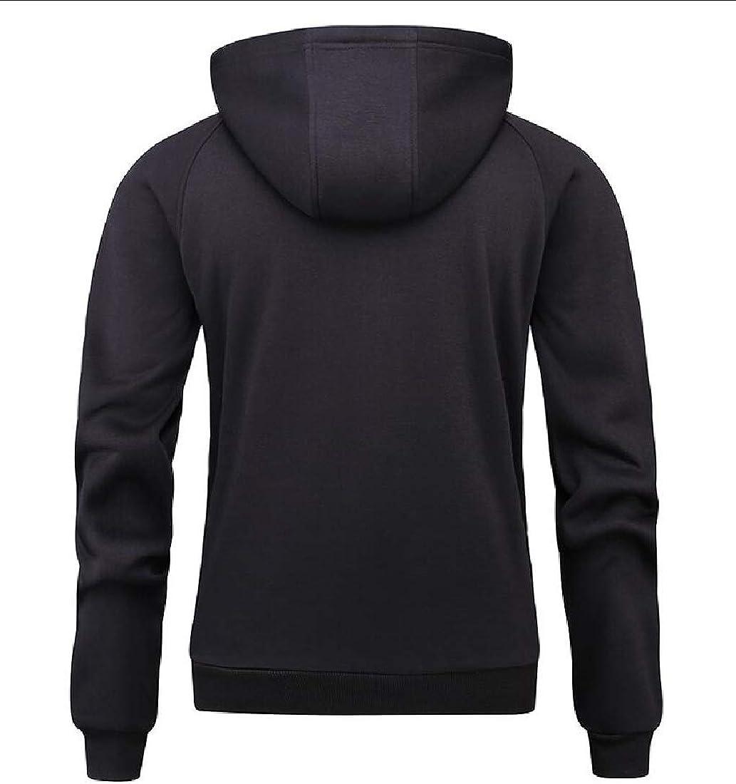 xtsrkbg Mens Long Sleeve Half Zipper T-Shirt Lightweight Pullover Hooded Sweatshirt