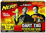 Nerf Dart Tag Hyperfire Deluxe 2 Player Blaster Set