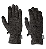 Outdoor Research Women's Biosensor Liners, Charcoal, Large