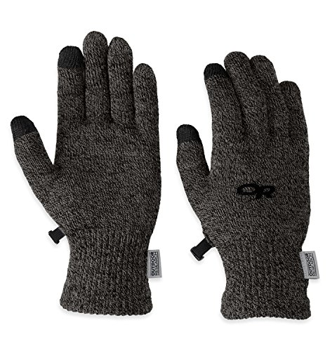 (Outdoor Research Women's Biosensor Liners, Charcoal, Small)