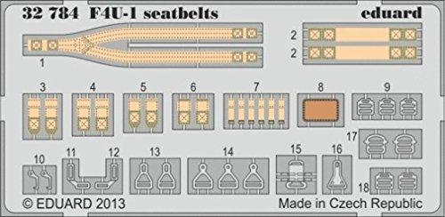 (EDP32784) - Eduard Photoetch 1:32 - F4U seatbelts EDU32784