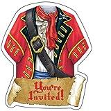 Creative Converting Buried Treasure Invites - 8 ct