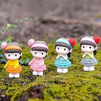 4 Figuras de bonsái en Miniatura, Decorativas, de Resina, para jardín, Gente, Estatua: Amazon.es: Jardín