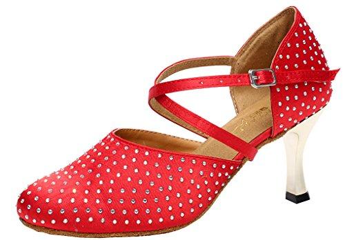 Modern femme rouge Rouge Jazz Salabobo amp; P8txfxE