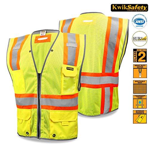 KwikSafety Premium Economy iPocket Safety Vest   Landscap...