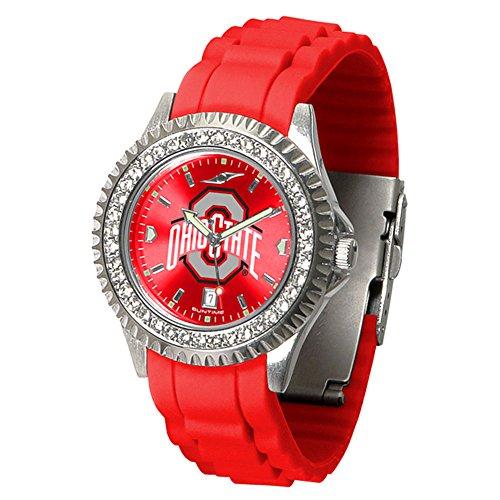 - Linkswalker Ladies Ohio State Buckeyes Sparkle Watch